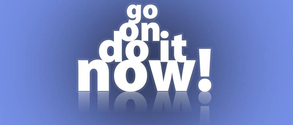 Stop Procrastination - Do It Now